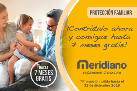 Ahorra en el seguro de Decesos y Protección Familiar de Meridiano