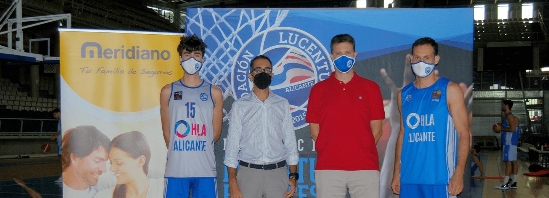 Meridiano Seguros afianza su apuesta por el deporte base, con el patrocinio del Lucentum Baloncesto Alicante