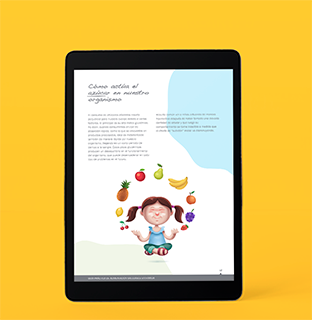 Guía alimentaciín saludable infantil