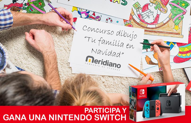 Concurso infantil de dibujo: Tu Familia en Navidad