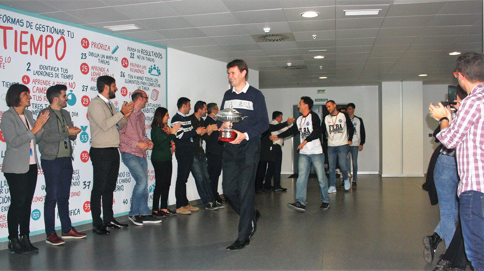 10 años y una Copa: Fundación Lucentum visita a Meridiano en su primera década junto al club