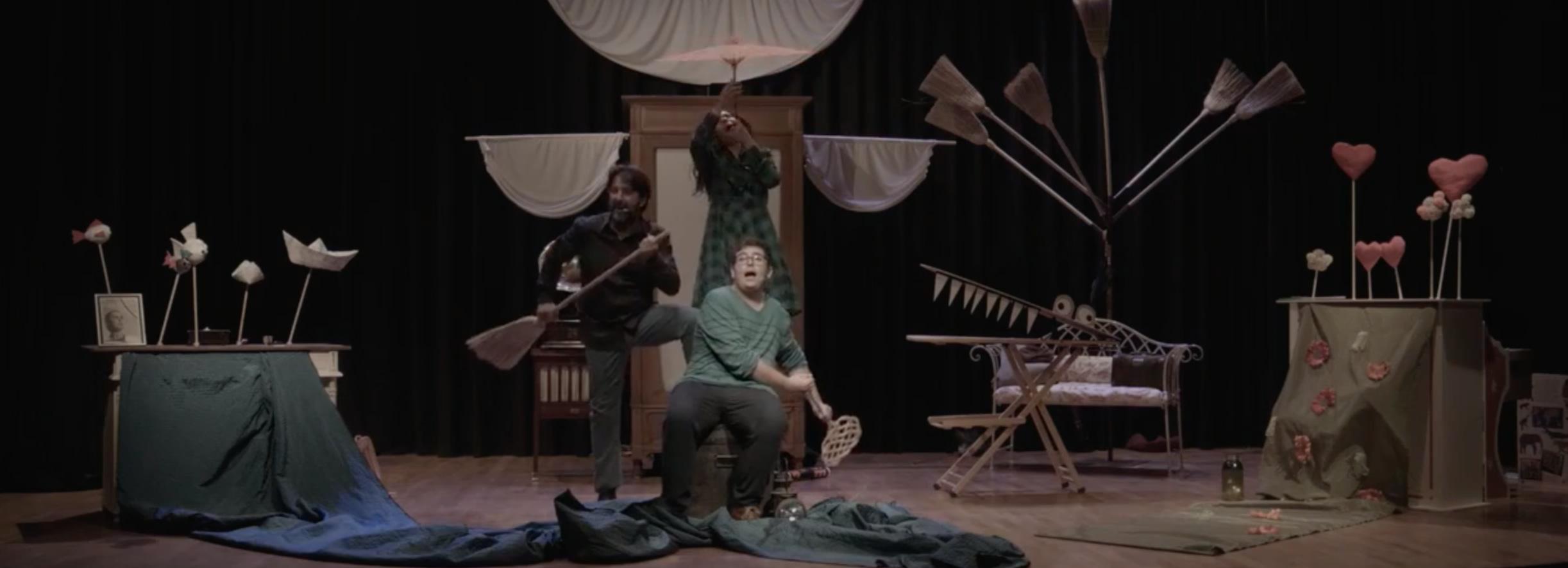 Yo también soy Peter Pan, teatro familiar para reflexionar sobre el ciclo de la vida