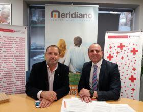 Meridiano Seguros y Cruz Roja se unen en esta iniciativa para ayudar a los colectivos más vulnerables