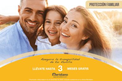 Contrata ahora tu seguro de Protección Familiar y consigue hasta 3 meses gratis.